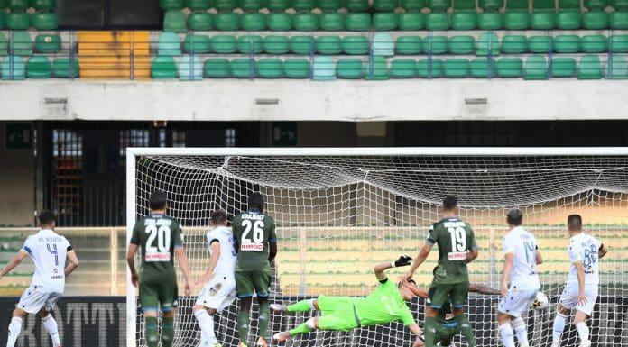gol Milik, Verona-Napoli
