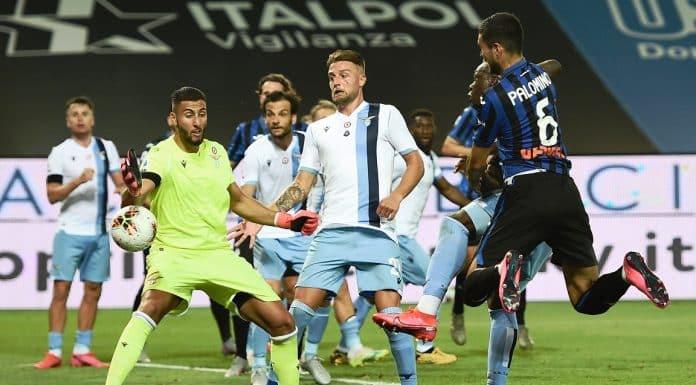 gol Palomino, Atalanta-Lazio