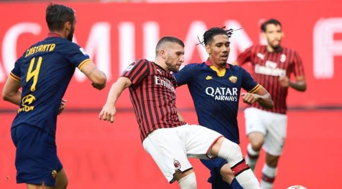 gol Rebic, Milan-Roma