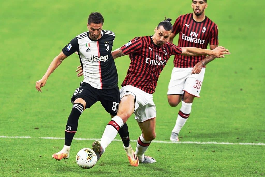 Ibrahimovic-Bentancur, Milan-Juventus