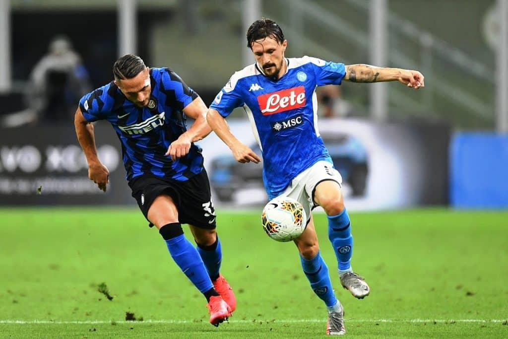 Mario Rui-D'Ambrosio, Inter-Napoli