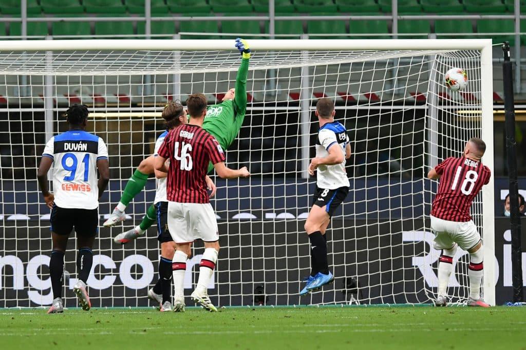 gol Calhanoglu, Milan-Atalanta