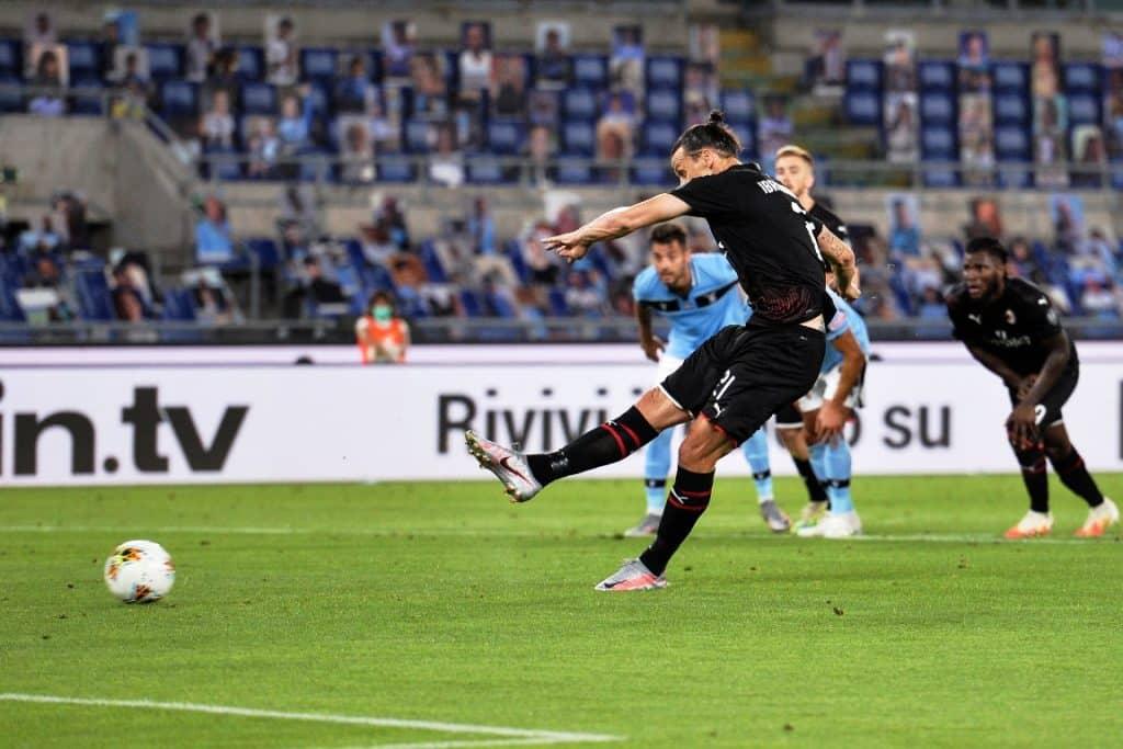 gol Ibrahimovic, Lazio-Milan