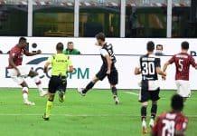 gol Leao, Milan-Juventus