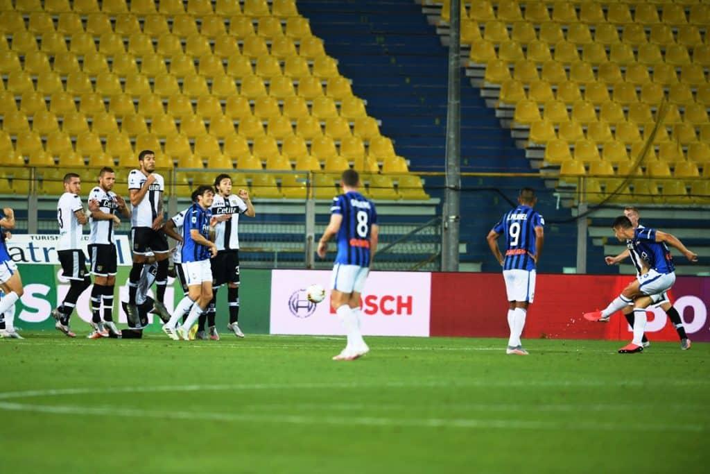 gol Malinovskyi, Parma-Atalanta