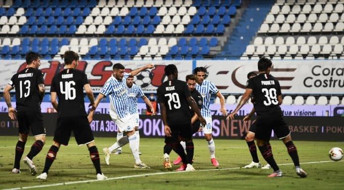 gol Valoti, Spal-Milan
