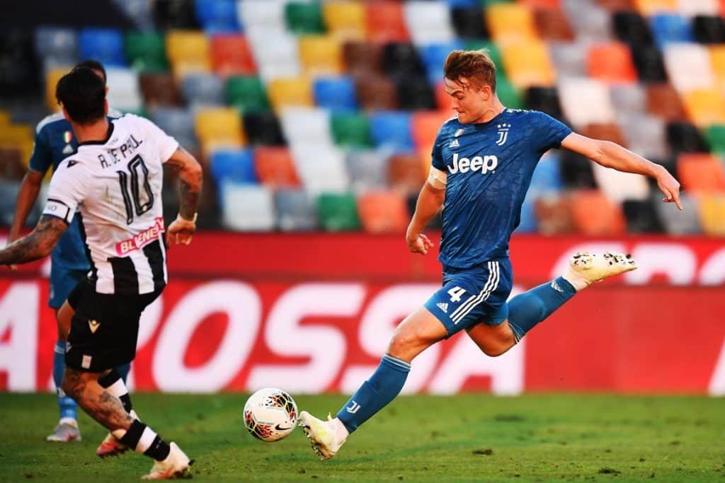 gol de Ligt, Udinese-Juventus