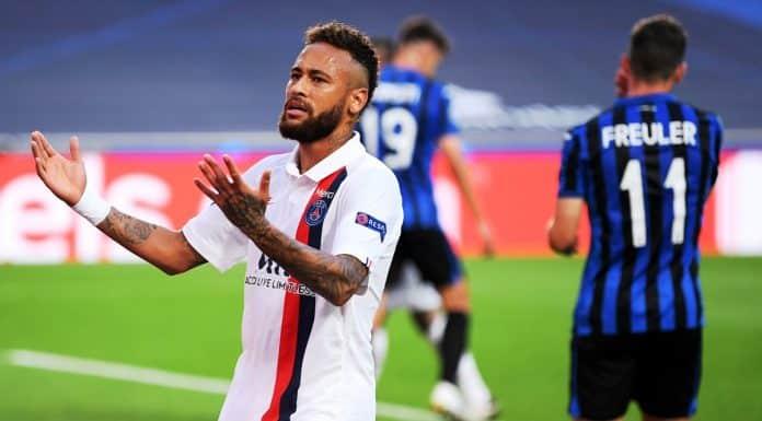 Neymar, Atalanta-PSG