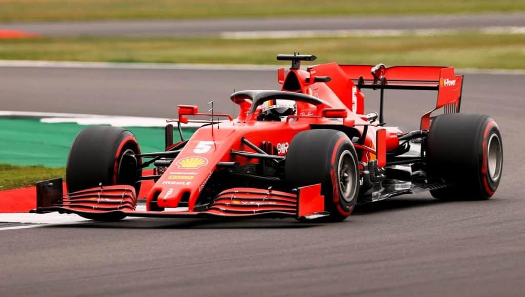 Vettel, Ferrari 2020