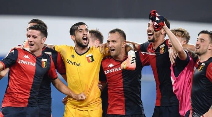 esultanza Genoa