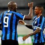 esultanza gol Lukaku, Inter-Bayer Leverkusen