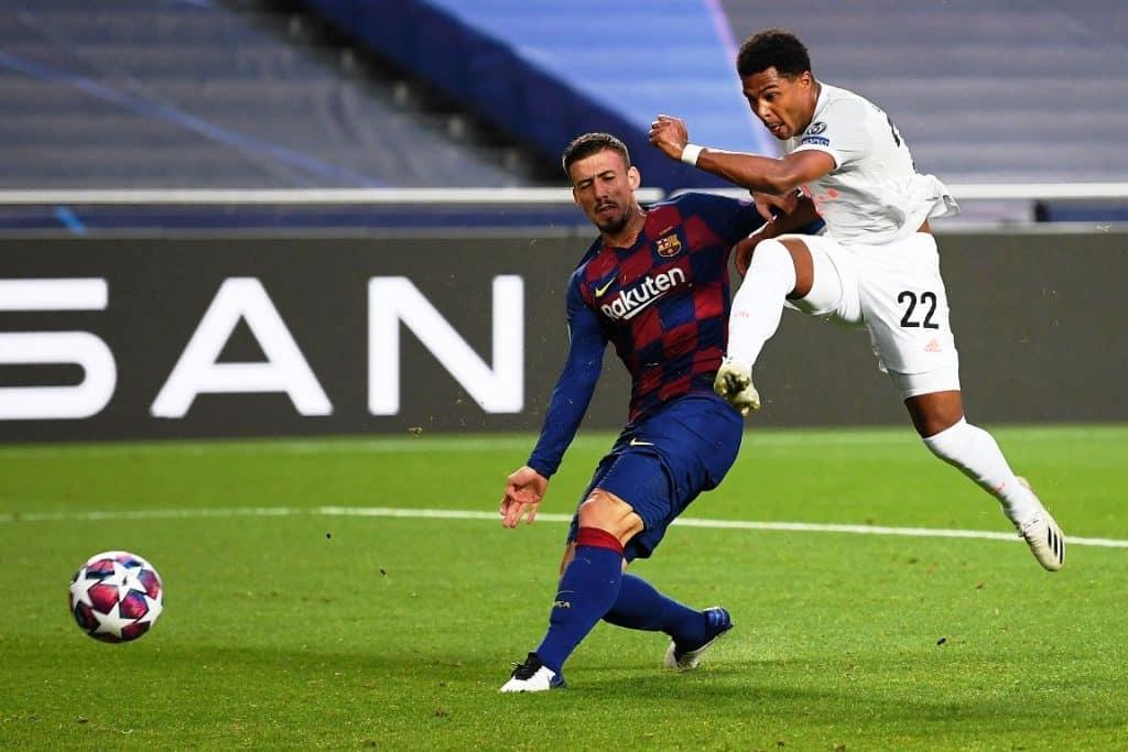 gol Gnabry, Barcellona-Bayern Monaco