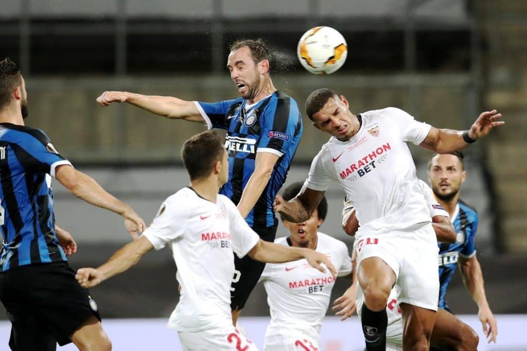 gol Godin 2-2, Siviglia-Inter