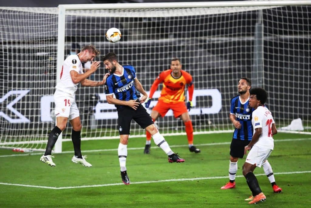 gol 2-1 de Jong, Siviglia-Inter