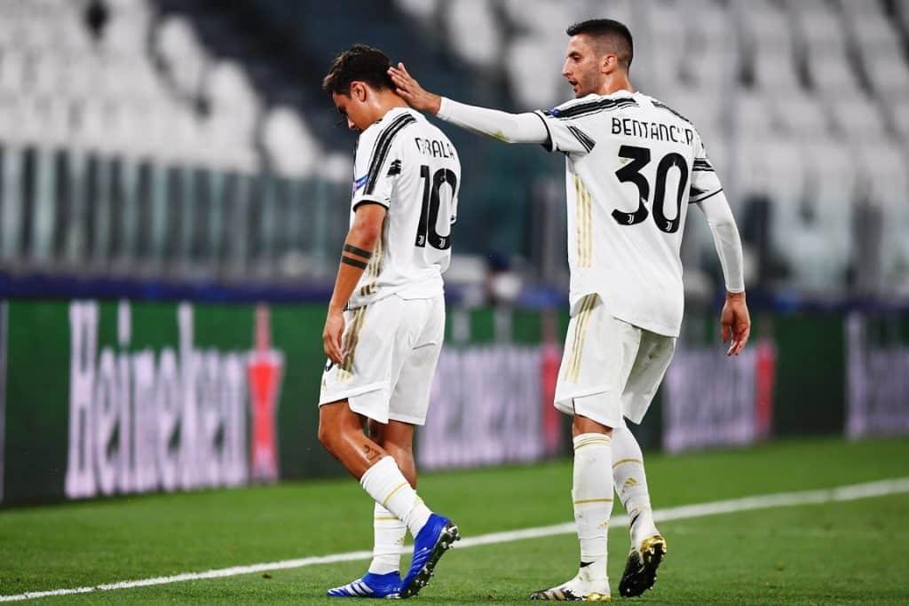 infortunio Dybala, Juventus-Lione