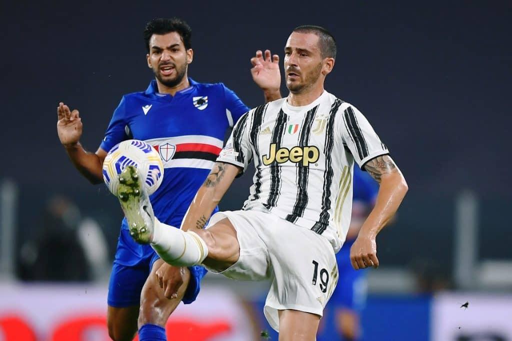 Bonucci-Leris, Juventus-Sampdoria
