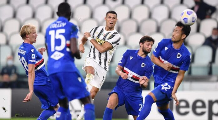 Ronaldo, Juventus-Sampdoria