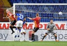gol Caldirola, Sampdoria-Benevento