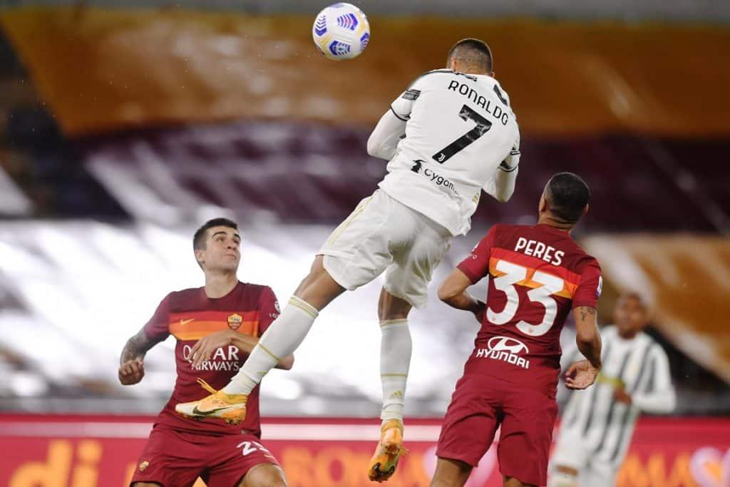 gol Ronaldo, Roma-Juventus