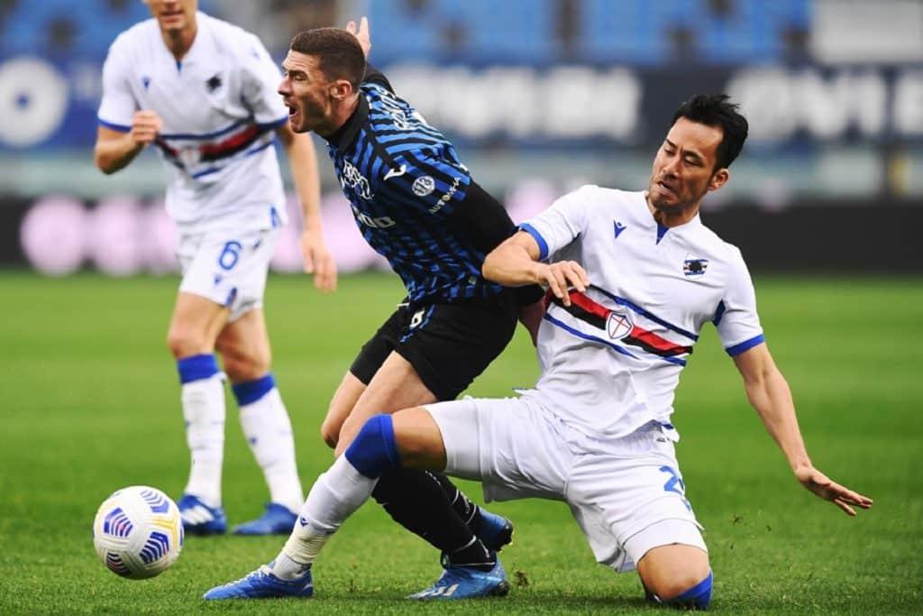 Gosens-Yoshida, Atalanta-Sampdoria