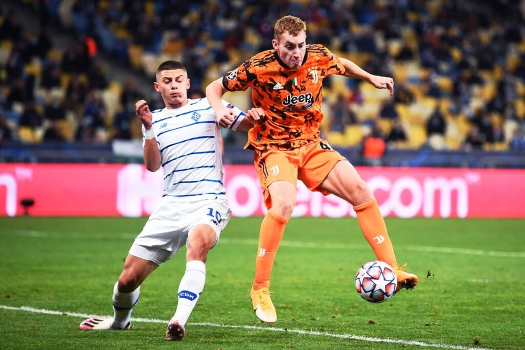 Kulusevski-Shaparenko, Dinamo Kiev-Juventus