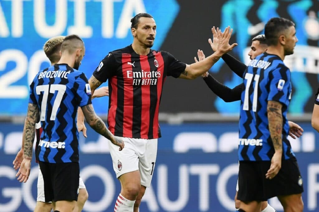 esultanza gol Ibrahimovic, Inter-Milan
