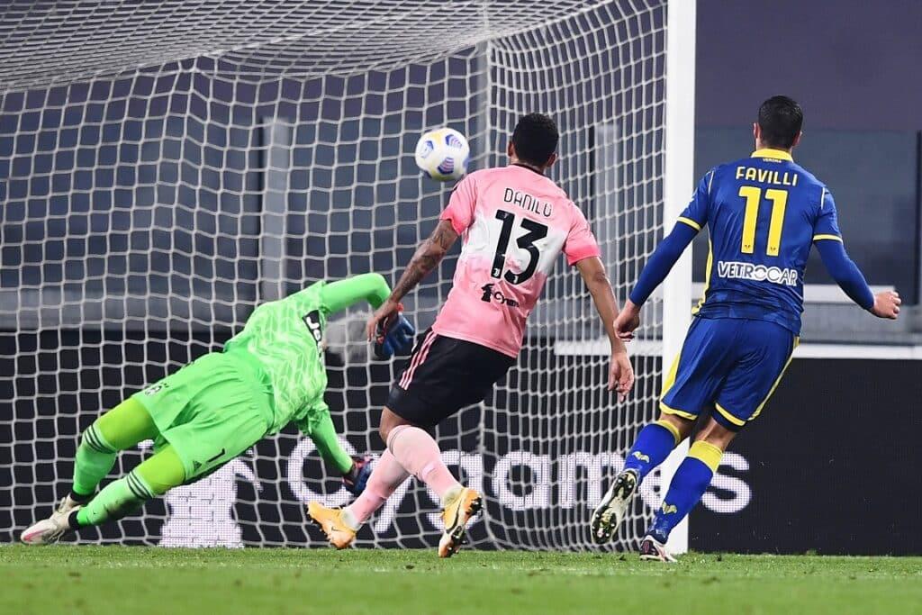 gol Favilli, Juventus-Verona