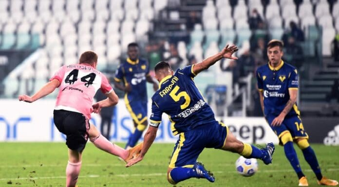 gol Kulusevski, Juventus-Verona