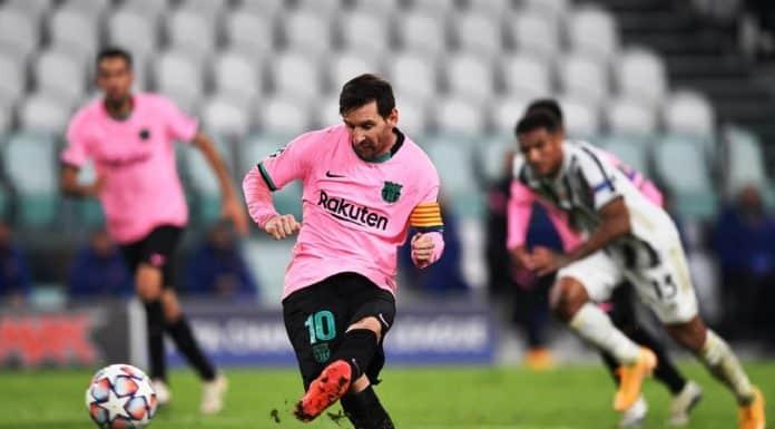 gol Messi, Juventus-Barcellona