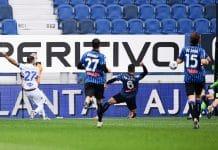 gol Quagliarella, Atalanta-Sampdoria
