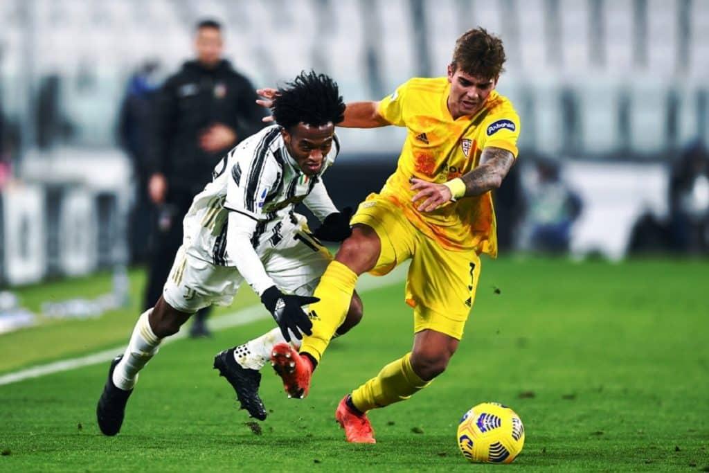 Tripaldelli-Cuadrado, Juventus-Cagliari