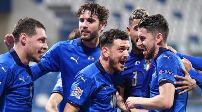 esultanza gol Italia