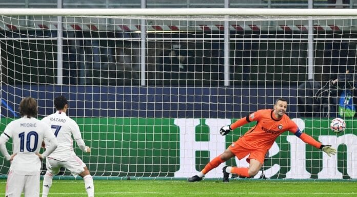 gol Hazard, Inter-Real Madrid