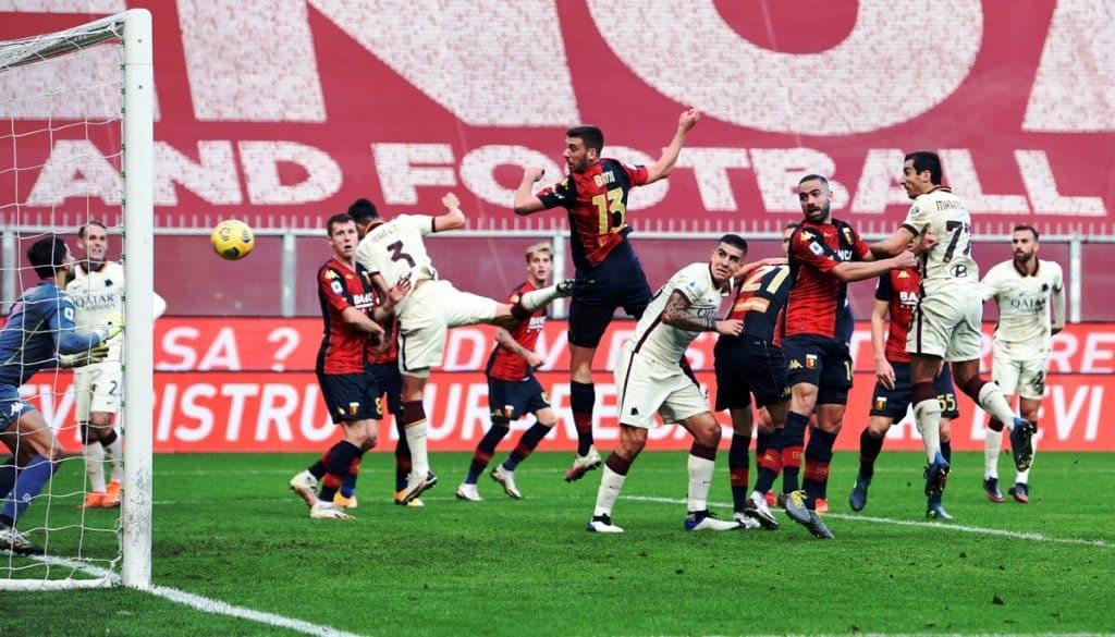 gol Mkhitaryan, Genoa-Roma