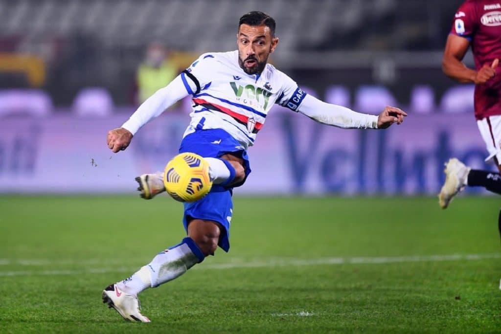 gol Quagliarella, Torino-Sampdoria