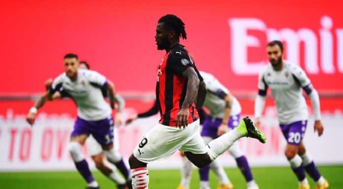 gol rigore Kessie, Milan-Fiorentina