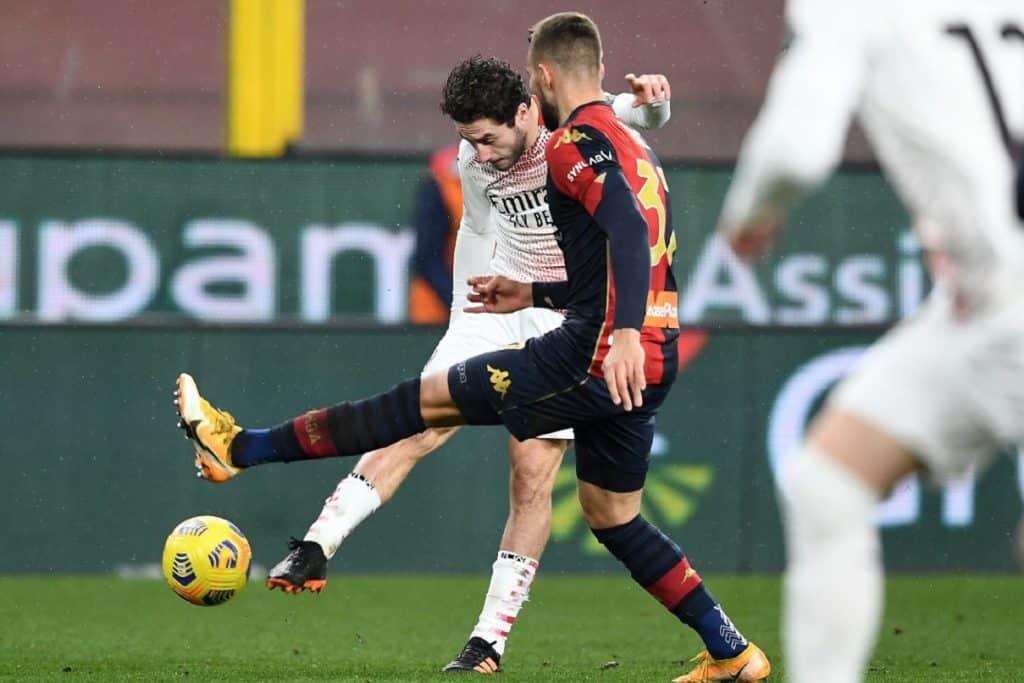 gol Calabria, Genoa-Milan