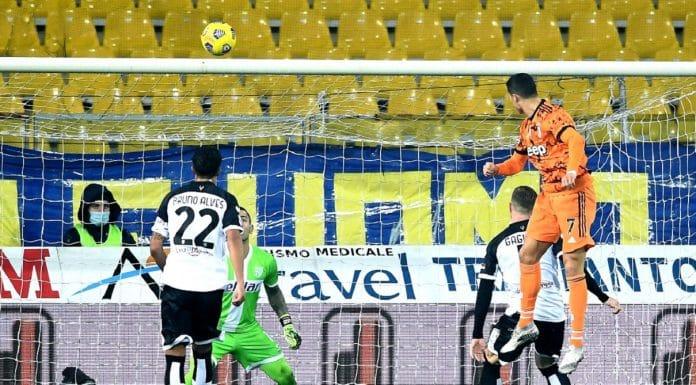 gol Ronaldo, Parma-Juventus