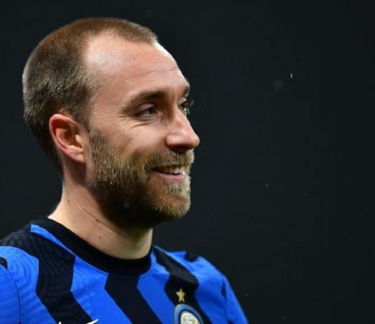 Eriksen, centrocampista Inter