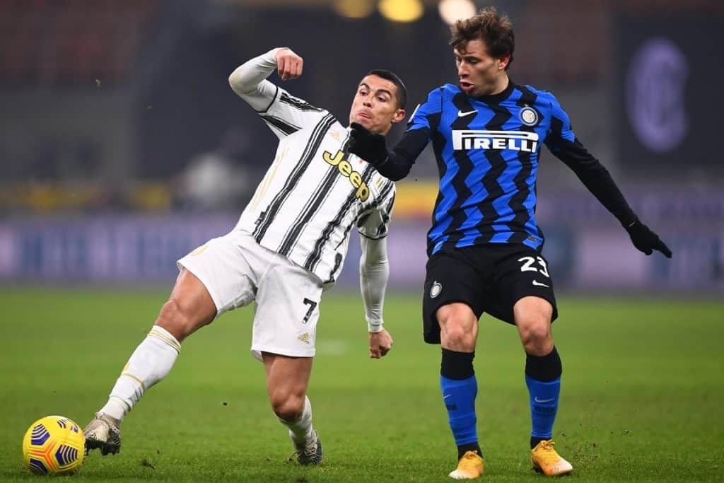 Ronaldo-Barella, Inter-Juventus