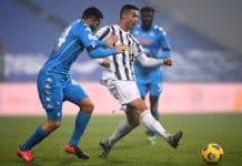 Ronaldo-Manolas, Juventus-Napoli