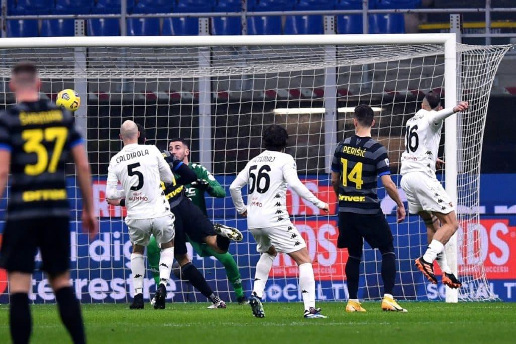 autogol Improta, Inter-Benevento
