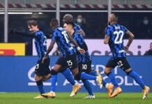 esultanza gol Barella, Inter-Juventus