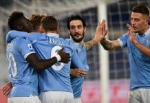 esultanza gol Lazio