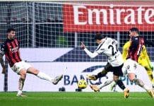 gol Federico Chiesa, Milan-Juve