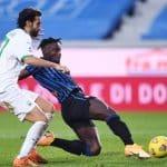 gol Zapata, Atalanta-Sassuolo