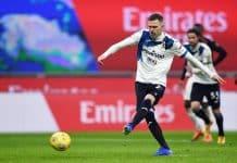 gol rigore Ilicic, Milan-Atalanta