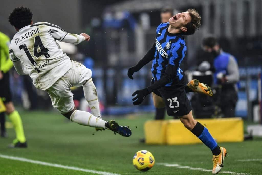 Barella-McKennie, Inter-Juventus