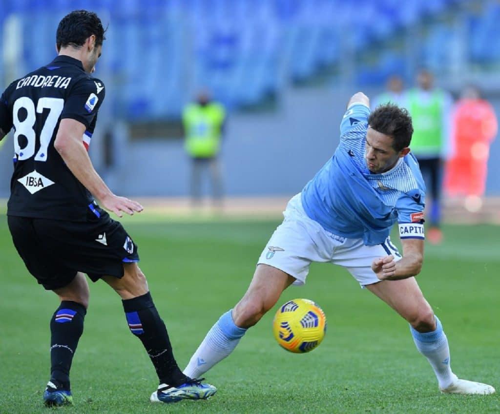 Candreva-Lulic, Lazio-Sampdoria