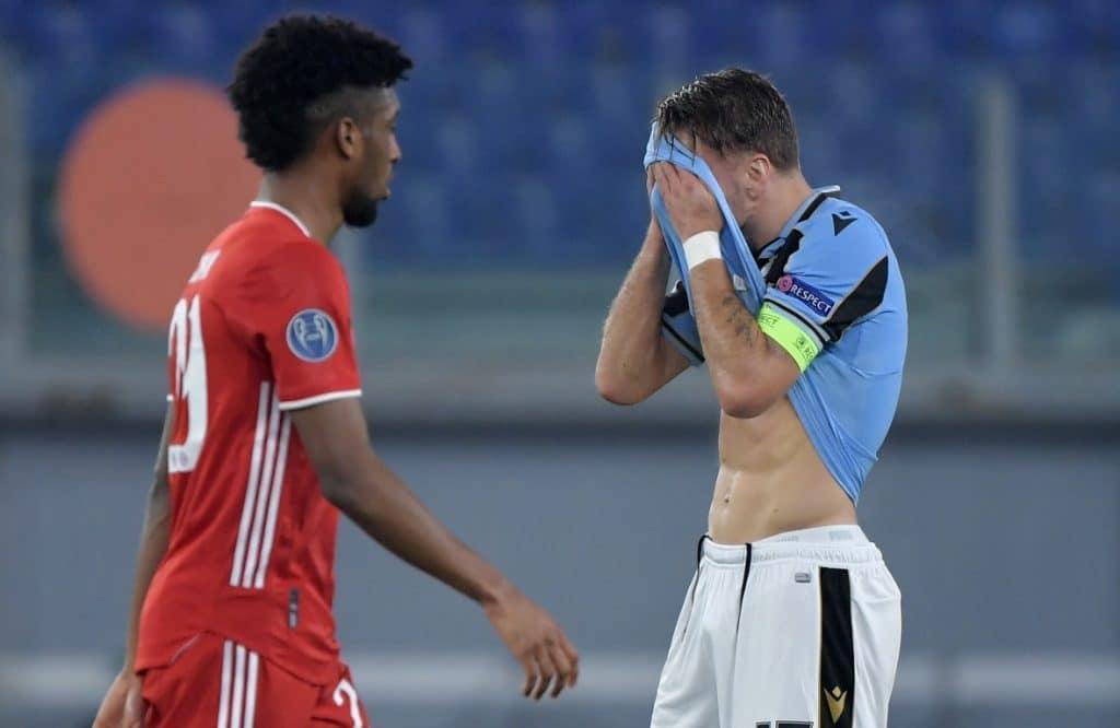 delusione Immobile, Lazio-Bayern Monaco